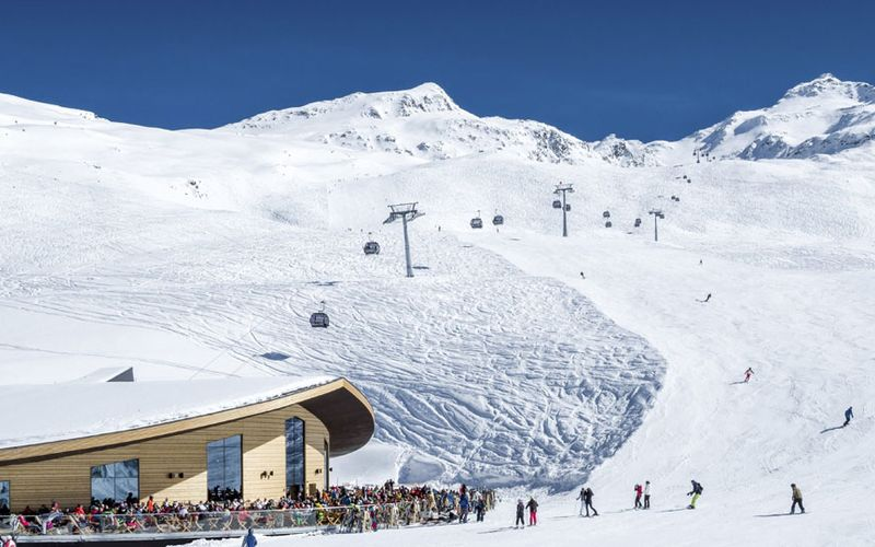 Schneesicherster Wintersportort