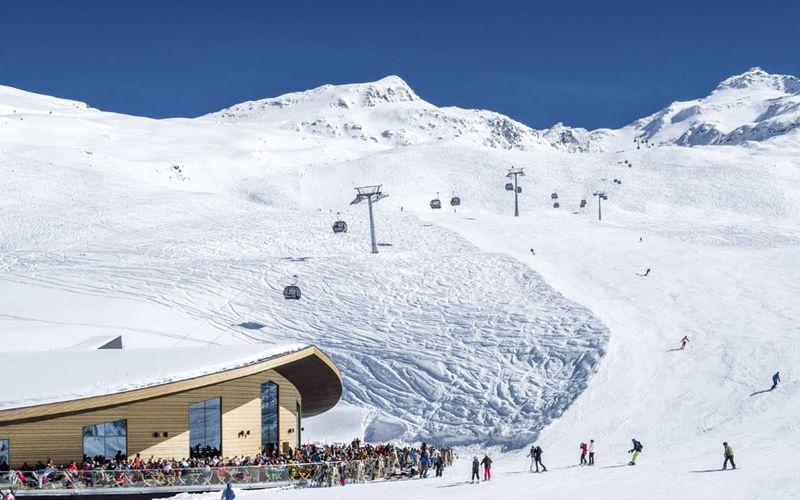 snow guarantee in the winter sport resort