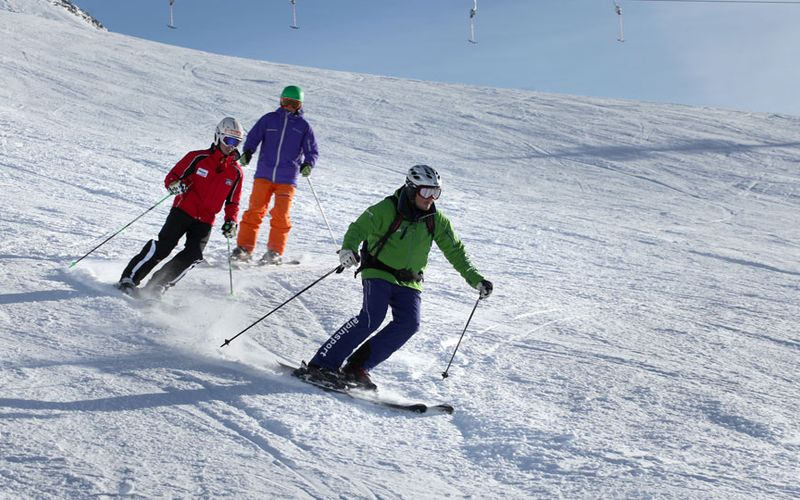 Skiing fun for the whole family