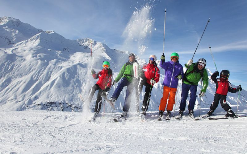 great pleasure skiing