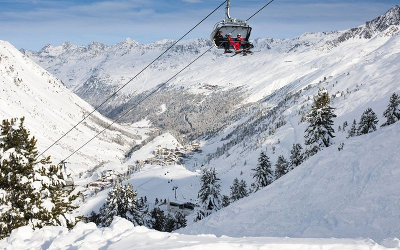 Obergurgl-Hochgurgl - the diamond of the Alps